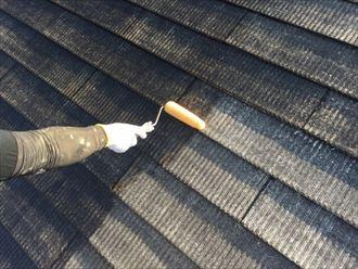 葛飾区アパート屋根塗装工事005
