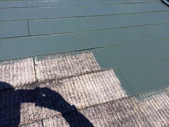 葛飾区アパート屋根塗装工事009