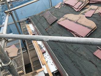 葛飾区パミール雨漏り葺き替え002