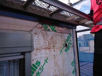 葛飾区パミール雨漏り葺き替え004