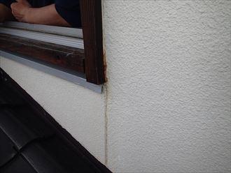 窓際のシミ