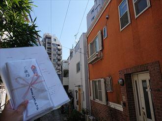 文京区雹災屋根破損カバー工事002