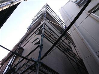 文京区雹災屋根破損カバー工事003