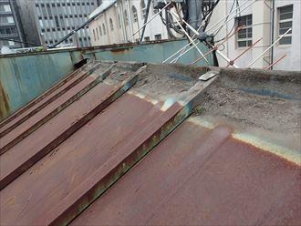 屋根の立上り