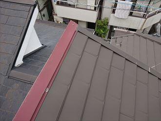 江戸川区カバー屋根の雨漏り001