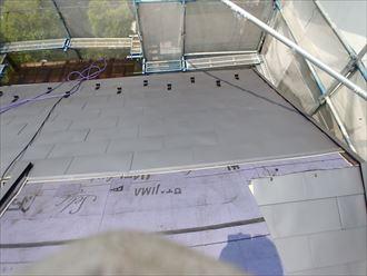 江戸川区屋根カバー葺き替え工事004