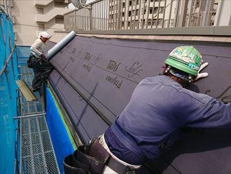 江戸川区斜壁雨漏り005