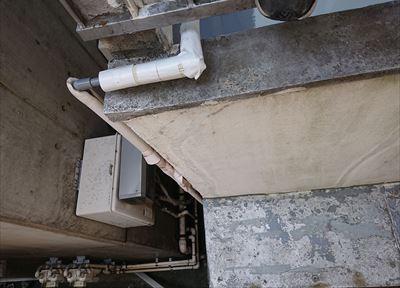 外壁クラックの補修