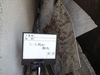 豊島区防水工事施工事例工事