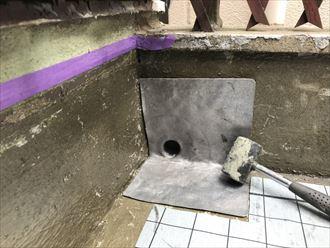 豊島区防水施工事例工事020