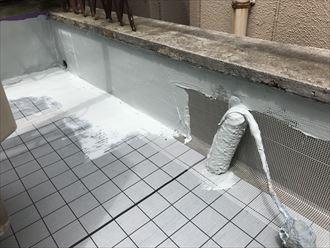 豊島区防水施工事例工事023