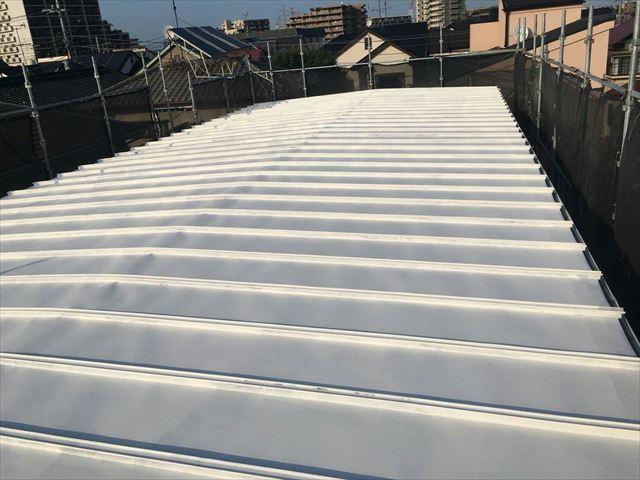 江戸川区鋼板屋根塗装下塗り大001