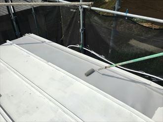 江戸川区鋼板屋根塗装002