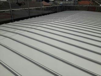 江戸川区鋼板屋根塗装003