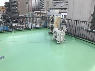 墨田区防水トップコート006