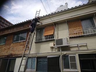 文京区雹災保険立ち合い001