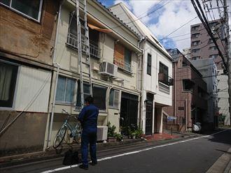 文京区雹災保険立ち合い003