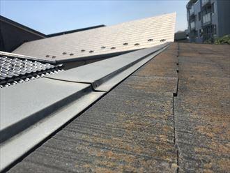 葛飾区棟板金の浮き