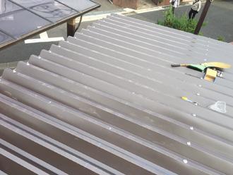 渋谷区 ガルバリウム鋼板で屋根カバー工法
