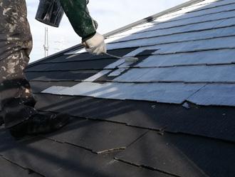中野区|遮熱塗料のサーモアイSiを使った屋根塗装