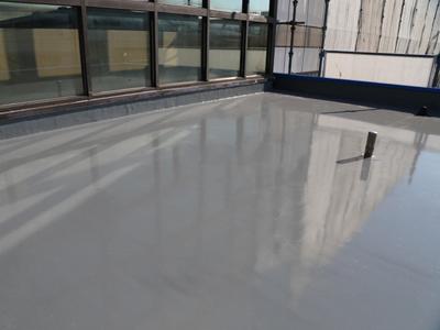 陸屋根ウレタン防水施工後
