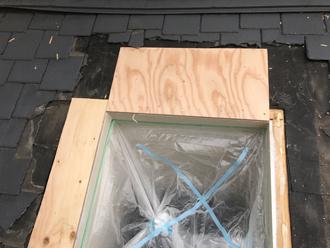 天窓の木枠