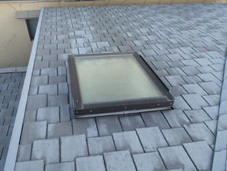 屋根カバー工法施工前アーバニー