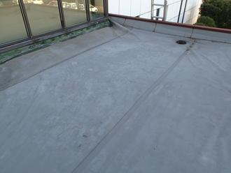 陸屋根ウレタン防水施工前