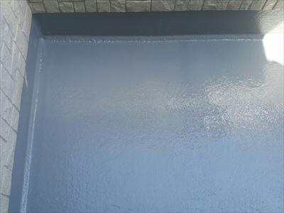 トップコート塗り替え工事完了