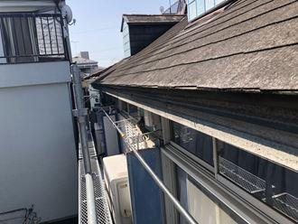 江戸川区アパート雨樋工事003