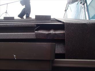 江戸川区屋根葺き替えとケラバの加工