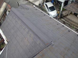 足立区にて屋根塗装