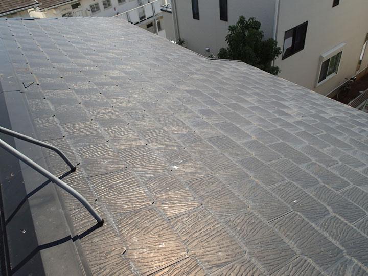 意匠性の高いスレート屋根