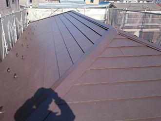 ガルバリウム鋼板での屋根葺き替え