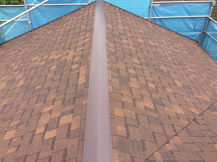パミールの屋根補修にアルマ