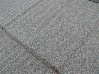 自然石粒吹き付け仕上げ鋼板