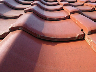 武蔵野市 屋根の調査 瓦は問題ない