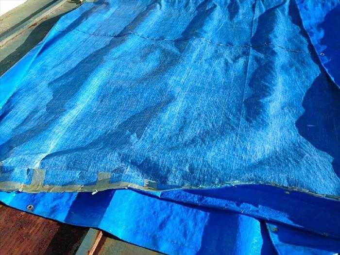 日野市のトタン屋根からの雨漏り