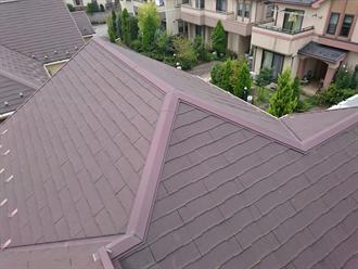 稲城市で屋根塗装点検