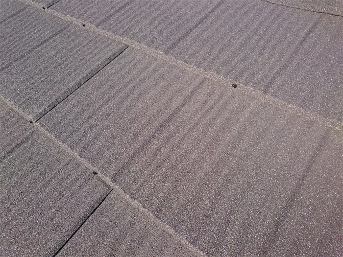 自然石粒仕上げ鋼板