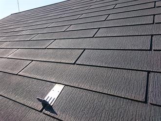 国分寺市にて台風被害に不安を感じ無料点検を実施、スレート屋根の浮きや色褪せから屋根塗装をご提案