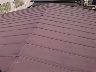 三鷹市のトタン屋根