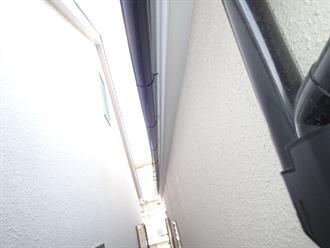 昭島市で雨樋点検