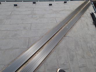 樹脂製貫板での交換