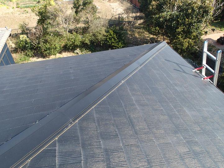 健全に見えるスレート屋根