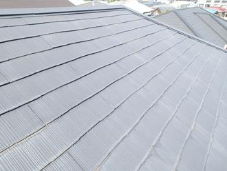 八王子市 屋根カバー工法を行うスレート屋根