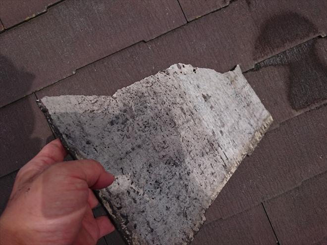 日野市にて劣化で割れた化粧スレート屋根を葺き替えてメンテナンス