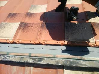 多摩市 屋根葺き直し 屋根材を設置