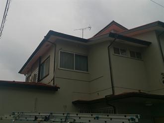 国分寺市で屋根葺き替え工事