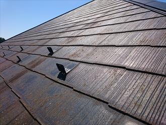 スレート葺きの屋根